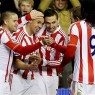 Walters celebrates with his team mates (ACTION IMAGES)