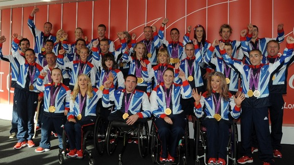 Gold medallists of Paralympic GB