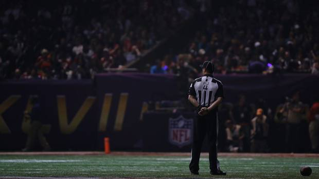 Referee left in the dark - Associated Press