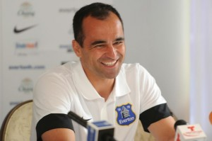 Martinez At Everton