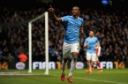 Fernandinho Classy Celebration Against Arsenal
