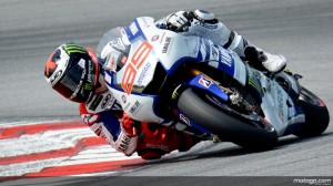 Lorenzo goes 6th on day 2