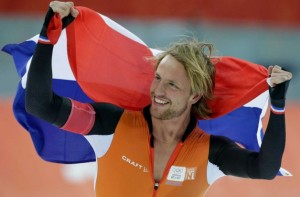 Michel Mulder Gets Gold For The Netherlands In Speed Skating
