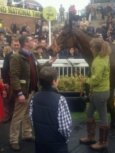 Tartan Snow can still show a quick hoof aged 14. Image credit @TheJockeyClub