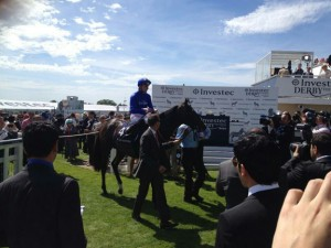 French Navy Diomed Stakes victory. Image credit @EpsomRacecourse