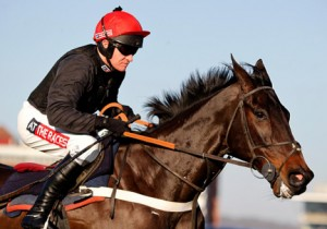 Sprinter Sacre in rude health once more. Image credit @Channel4Racing