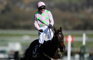 Ruby Walsh aboard Douvan. Image credit @Channel4Racing