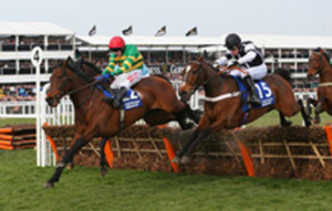 Call The Cops (15) takes on Unique De Cotte. Image credit @Channel4Racing