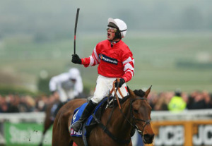 Coneygree winner of The Gold Cup. Image credit @Channel4Racing