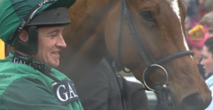 Peace And Co with Barry Geraghty. Image credit @Channel4Racing