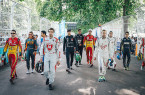 Formula E features an eclectic mix of drivers.
