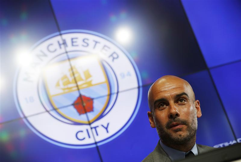 Manchester City Press Conference Gaurdiola